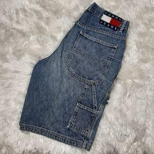 Vintage Tommy Hilfiger 90's Carpenter Denim Shorts